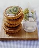 Kiwi fruit tarts