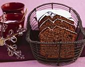Mulled wine chocolate cake