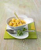 Creamy, Thai-style potato curry