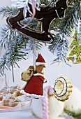 Assorted Christmas tree ornaments