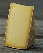 A piece of Bergkäse (Alpine cheese)