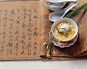 Buddhist sweetcorn soup