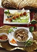 Pork balls and pork in coconut milk (Vietnam)