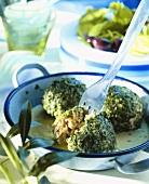 Youvarlakia (Meatballs in sauce, Greece)