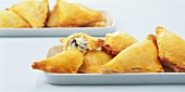 Small quark and raisin pasties