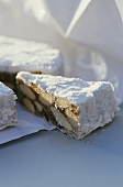 Panforte di Siena (fruit and nut cake), Tuscany, Italy