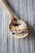 A spoon of chilli salt