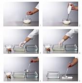 Gefüllte Griechischer-Joghurt-Sphären herstellen (Molekularküche)