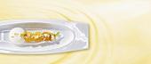 Griechischer Joghurt mit Kumquats (Molekularküche)
