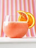 Frozen blood orange Campari