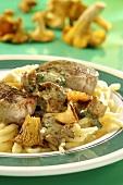 Swabian fillet stew