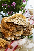 Crispy cumin bread