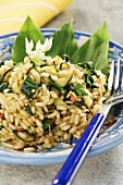 Risotto with chives