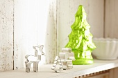 Cutters and decorative Christmas tree