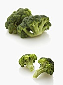 Broccoli and individual florets