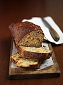 Courgette and banana bread