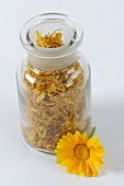 Dried marigolds