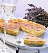 Roquefort quiche