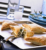 Spanakopita (Spinach and sheep's cheese pasties, Greece)