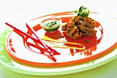 Pakoras (Vegetable fritters made with chick-pea flour batter)