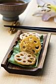 Pickled lotus root slices (Japan)