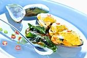 Shellfish soufflés (Asia)