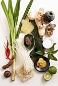 Various Malaysian ingredients