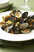 Mixed shellfish