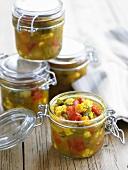 Piccalilli (vegetable pickle)