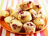 Cranberry muffins for children