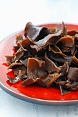 Cooked jelly ear fungus