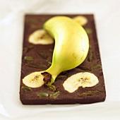 Schokolade mit Banane