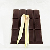 Chocolate with lemon grass