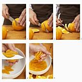 Orange filetieren