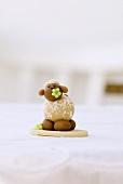 One marzipan sheep