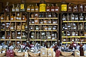 Stall with assorted spices