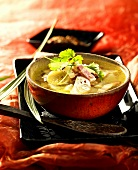 Radish soup with bacon (China)
