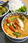Seafood curry from Thailand