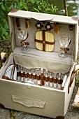 A picnic hamper