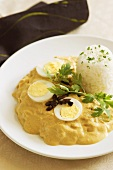 Aji de gallina (Peruvian chilli chicken)