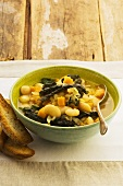 Pumpkin and butterbean stew