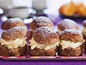 Semlor (Traditional Swedish filled buns)