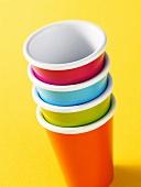 Coloured beakers