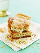 Börek filled with sheep's cheese