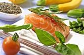 Zutaten für Lachsgericht