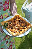 Pissaladiere (Onion tart with anchovies, France)