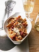 Risotto alla bergamasca (Cep risotto with tomatoes)