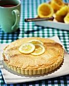 Lemon meringue pie (UK)