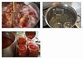 Pfirsichmarmelade zubereiten