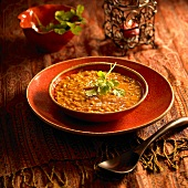 Harira (Ramadan soup with chick-peas, Morocco)
